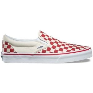 Vans Classic Slip-On Primary Check Sneakers